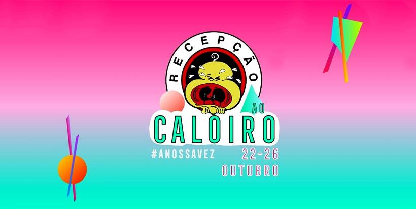 Cartaz da recepção ao caloiro AAUBI 2019 Covilhã