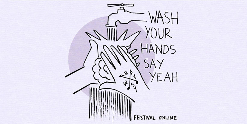Wash Your Hand Say Weah 2